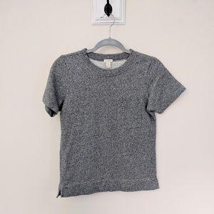 J.Crew Factory Short Sleeve Sweatshirt Pocket Tee